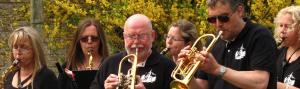 Altsax und Trompeten in Bötzow
