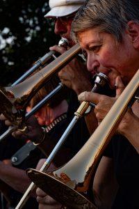 Bläser-Bastion: Lankwitz Horns. Foto: Johannes Stortz